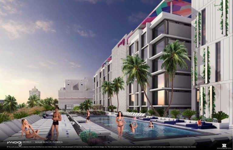 Construction Underway On 202 Room Moxy By Marriott Hotel In