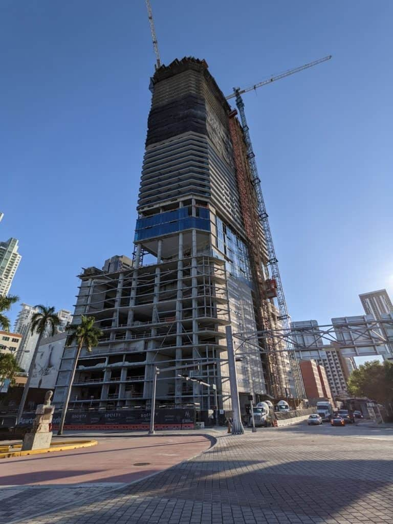 Photo: 571-Foot Society Biscayne Tower Making An Impact On Miami's Skyline